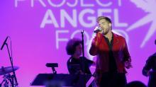 Adam Lambert honors George Michael at emotional Project Angel Food gala