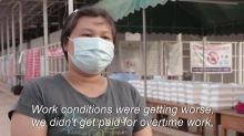 Myanmar migrant workers return from Thailand