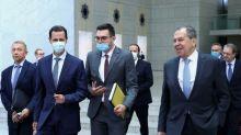 Lawrow erstmals seit Beginn des Syriens-Krieges in Damaskus