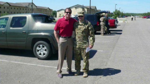 Jon Scott discusses soldier son's deployment to Afghanistan