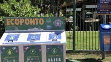 Canal de Marapendi ganha ecopontos para coleta de material reciclável