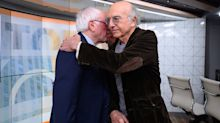 Cousins! Larry David & Bernie Sanders Appear Together on Today: 'We Go Back to the Old Country'