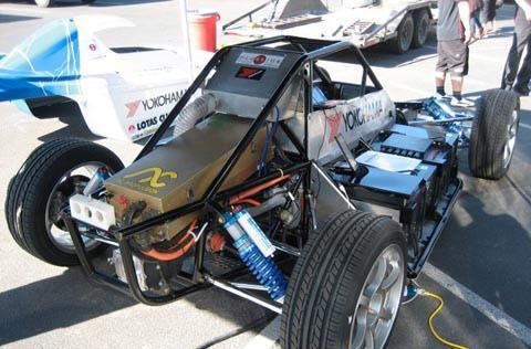 Yokohama EV sets new Pikes Peak Hill Climb record, leaves Leaf blowing in the wind