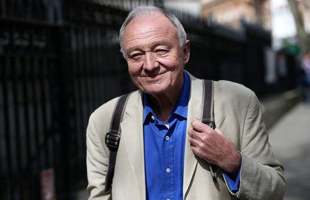 Former London mayor Ken Livingstone leaves after appearing on the LBC radio station in London, Britain, April 30, 2016. REUTERS/Neil Hall