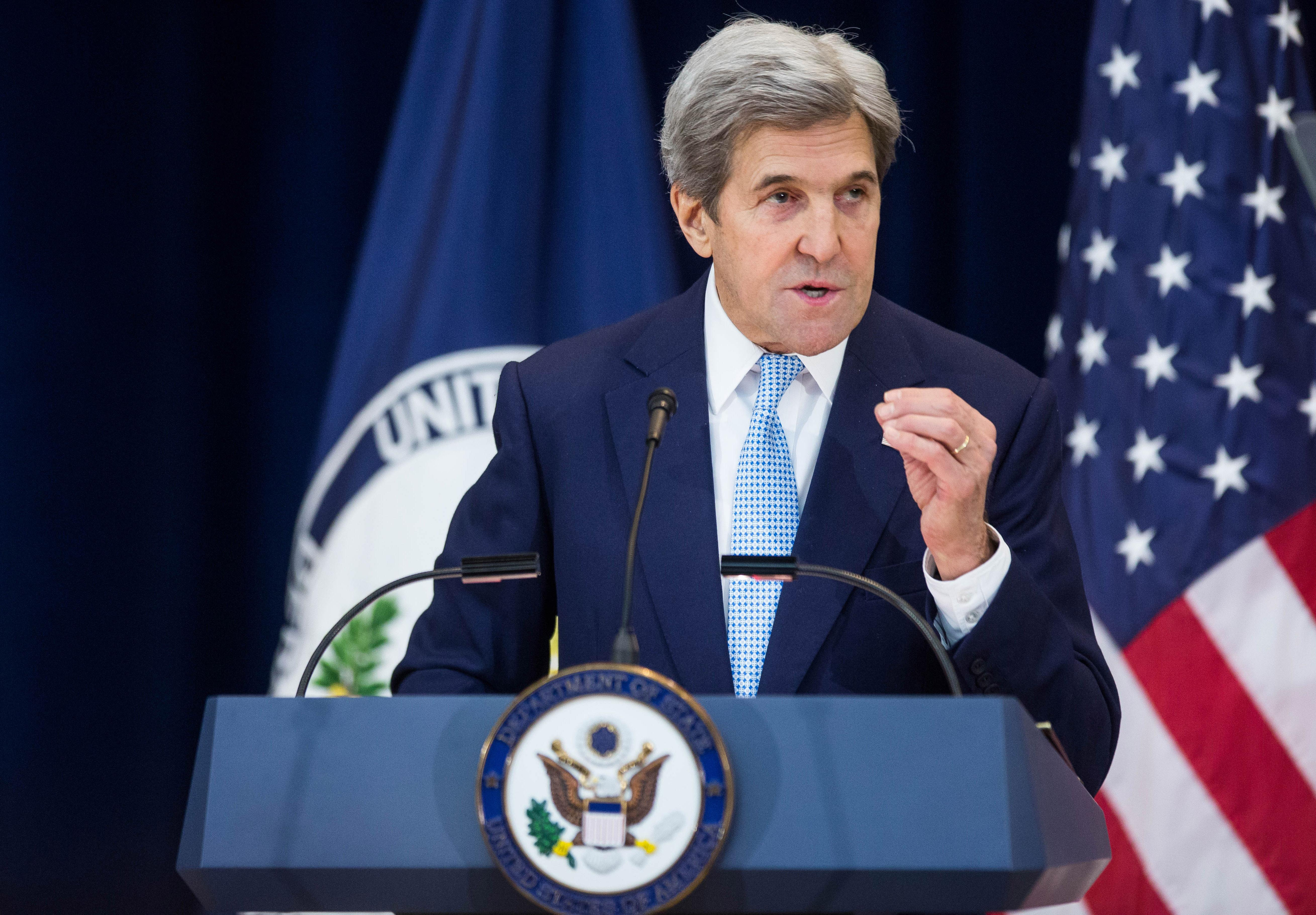 Kerry Addresses Controversial UN Vote