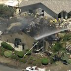 Possible Explosion Destroys Southern California Home