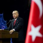 Erdogan urges Turks to boycott French goods