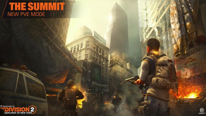 The Summit Mode in The Division 2