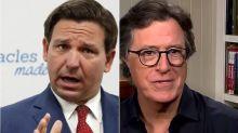Stephen Colbert Taunts Florida Gov. Ron DeSantis Over Coronavirus Screwups