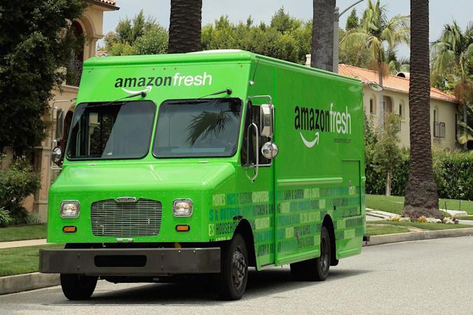 Amazon brings grocery deliveries to the UK via Birmingham