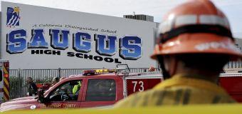 Suspect, 16, in Santa Clarita HS shooting dies