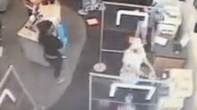 Staples customer who told woman to wear mask is thrown to ground, has broken leg