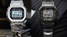 金屬感加持! 5款人氣Casio G-Shock GMW-B5000腕錶推介!