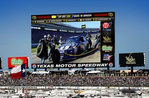 Texas Motor Speedway's 'Big Hoss TV' will be the world's largest HD screen