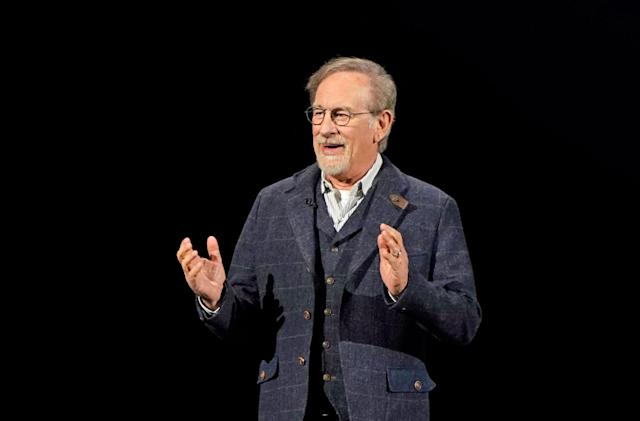 Steven Spielberg is writing a horror show you can only stream at night