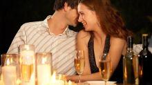 Cuanto más romántica sea tu cita peor comerás