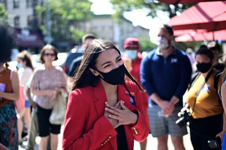 Progressive Democratic US lawmaker Alexandria Ocasio-Cortez had a tense exchange with Republican Ted Yoho on the steps of the Capitol