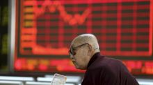 World stocks mixed, oil soars on Iran sanctions fears