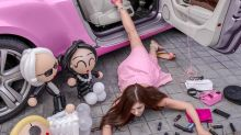 What is the 'flaunt your wealth' challenge sweeping Chinese social media?