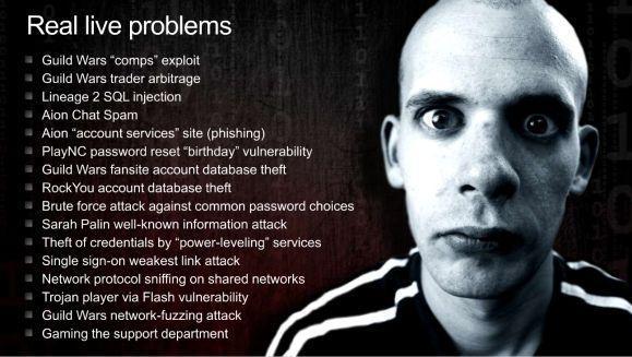 GDC10: En Masse's Patrick Wyatt talks MMO security
