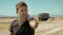 Gino D'Acampo feared he would die after buggy crash left him covered in petrol during American Road Trip filming