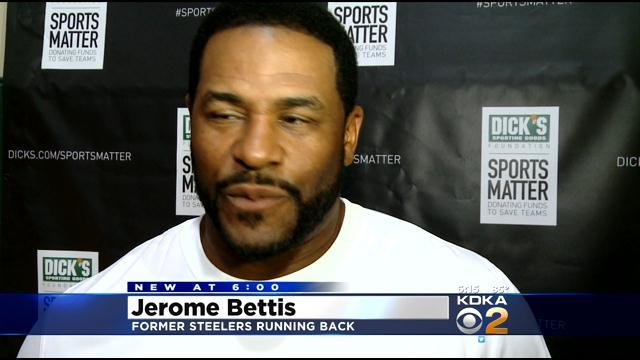 Jerome Bettis Helps Fund Local Sports Programs