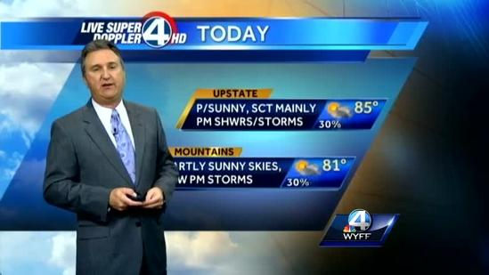 Sunday Forecast for 6-23-13