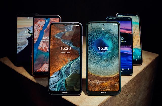 HMD revamps its Nokia smartphone lineup with six new affordable models