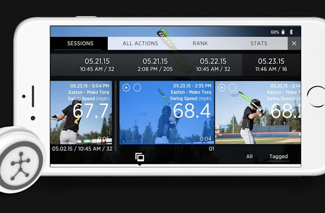 Blast Motion's swing sensor data is coming to baseball broadcasts