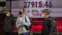 Stocks mostly rise but Japan skids on stark economic data