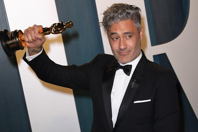 BEVERLY HILLS, CALIFORNIA - FEBRUARY 09: Taika Waititi attends the 2020 Vanity Fair Oscar Party at Wallis Annenberg Center for the Performing Arts on February 09, 2020 in Beverly Hills, California. (Photo by Toni Anne Barson/WireImage)