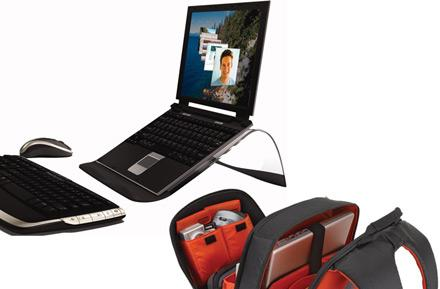 Logitech's Alto Express and Connect, Kinetik bags - show your laptop some love
