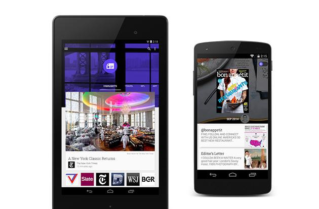Google Play Newsstand gets a redesign and new magazine view