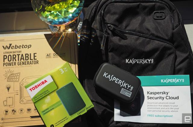 Engadget giveaway: Stay protected and connected courtesy of Kaspersky Lab!