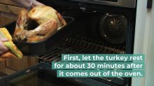 Christmas dinner sorted: How to carve a turkey