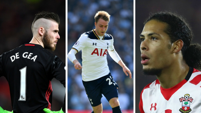 Gossip: United 'to let De Gea leave', Eriksen 'to Barcelona, Liverpool 'want £50m Van Dijk'