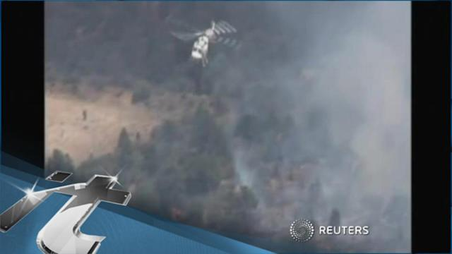 Natural Disaster Breaking News: Powerful Winds Expected at Arizona Wildfire