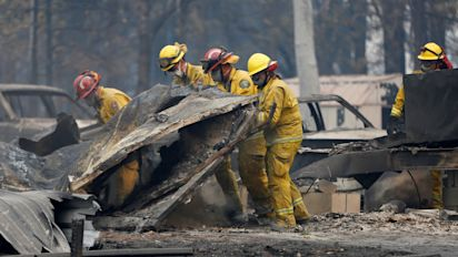 Officials fear many more deaths in California fires