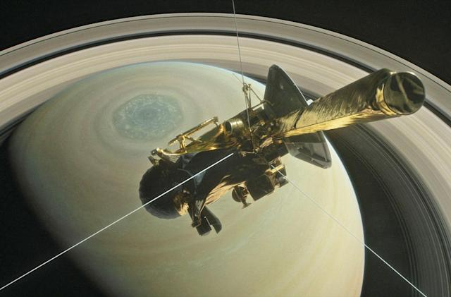 Watch a NASA simulation of Cassini's upcoming Saturn crash