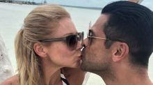 Kelly Ripa Confirms Mark Consuelos' Bulge in Pic Is, Um, Because He Has a Big Penis