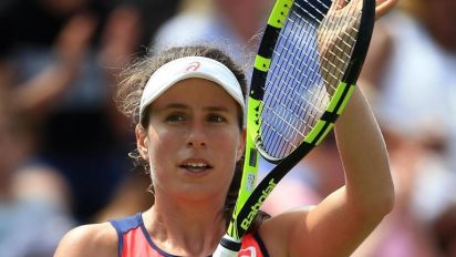 Aegon Classic: Johanna Konta crashes out in second round after straight sets loss to Coco Vandeweghe