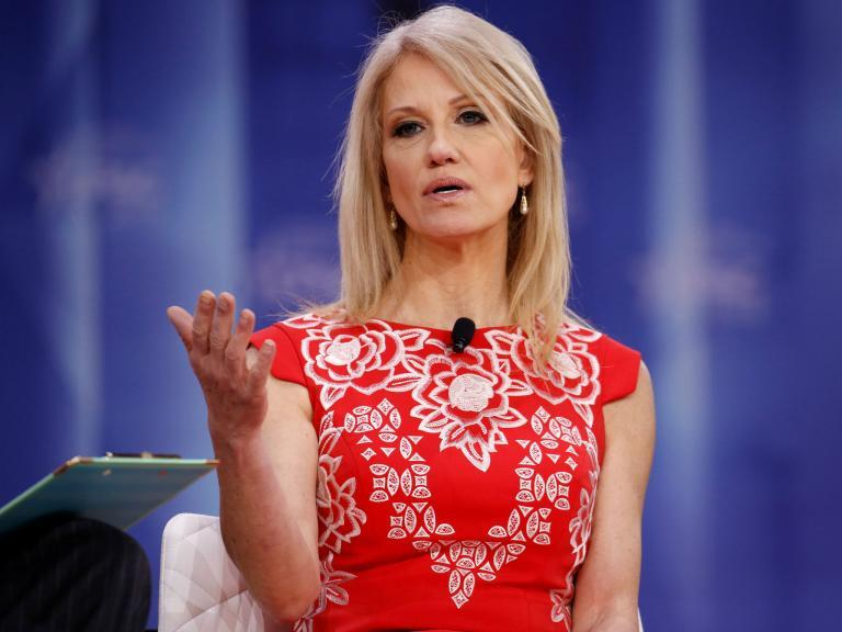 Kellyanne Conway struggles to name a single black White House advisor