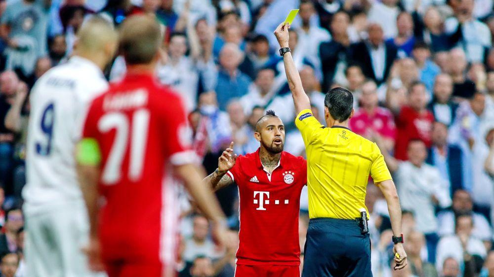 El acta arbitral no refleja incidentes con ningún jugador del Bayern