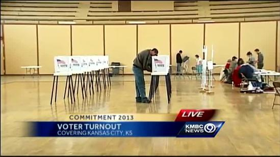 Voter turnout low in KCK mayoral election