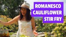 Kitchen Gardener: How to make a romanesco cauliflower and pork belly stir fry