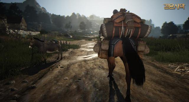 Expect zero seizures from today's Black Desert features reel