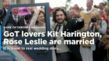 'Game of Thrones' stars Kit Harington, Rose Leslie are married!