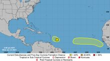 A strong tropical wave could form this week, joining other disturbance in the Atlantic