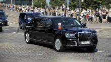 La limusina de Putin, la otra protagonista de la cumbre de Helsinki