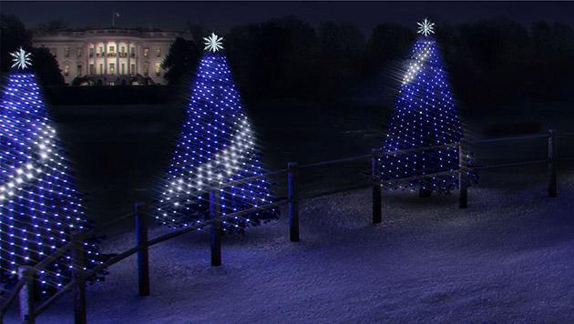 Kids can program the White House's Christmas tree lights this year
